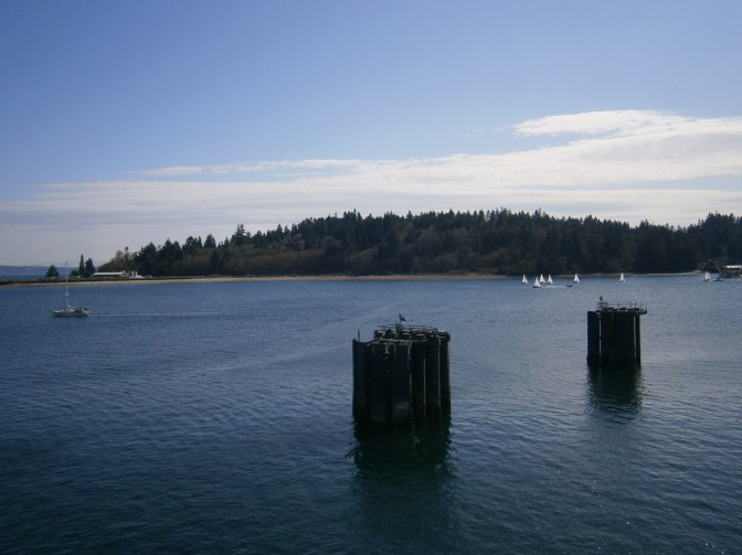 Ferry dock on Bainbridge Island