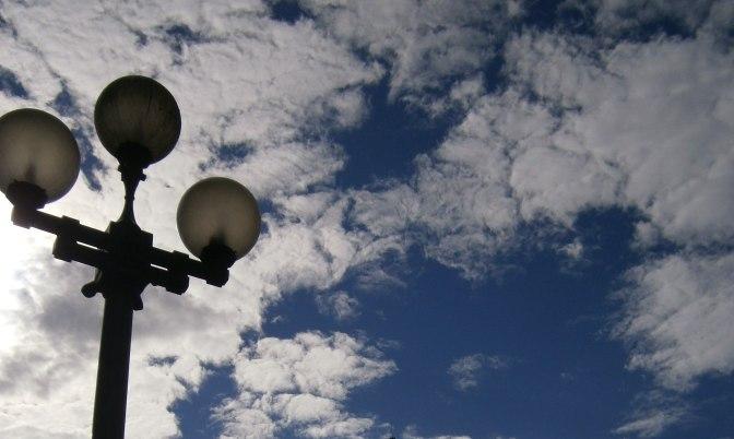 Pioneer Square Lamppost