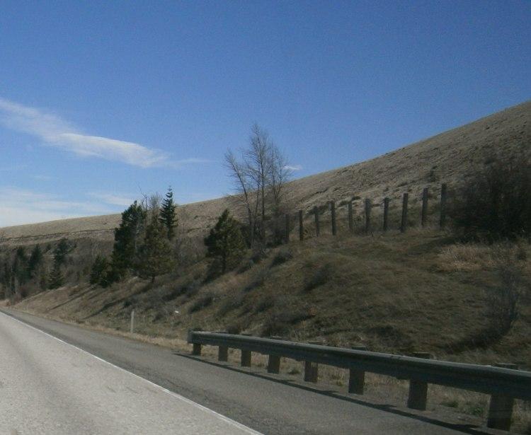 Interstate 82 out of Ellensburg