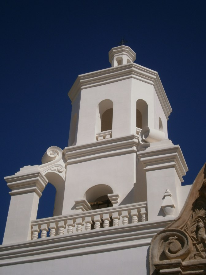 East Tower, San Xavier del Bac
