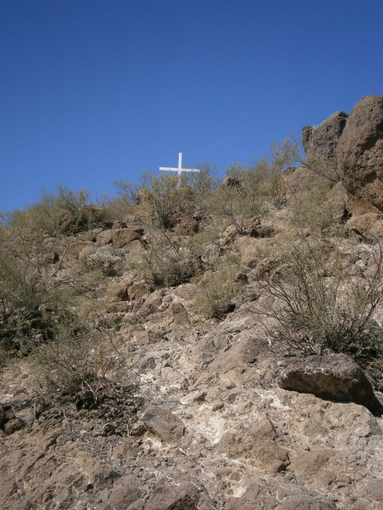 Arizona, just north of the Mexican border
