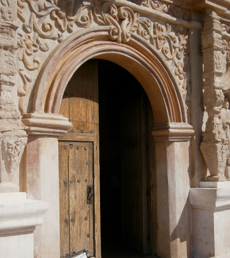Main Entrance, San Xavier del Bac