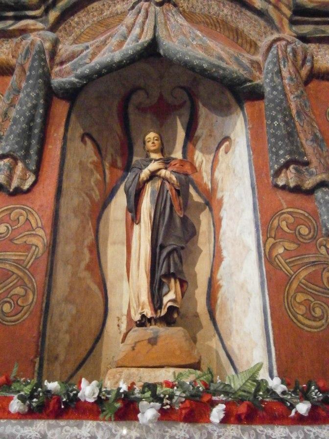 Mary, San Xavier del Bac