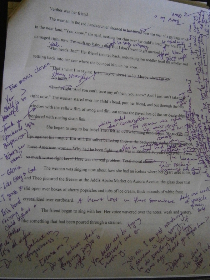 Short Story Revisions