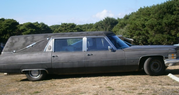 Hearse at the Seaside