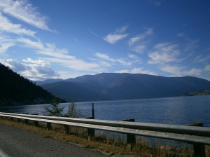 Lake Chelan highway