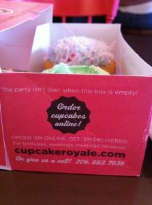 Cupcake Royale package