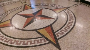 Compass Rose King Street Station